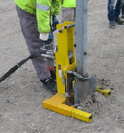 Barrier Fence Post Extractor